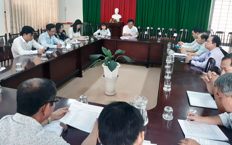 HĐND tỉnh giám sát việc thực hiện Nghị quyết 13 tại huyện Châu Thành.