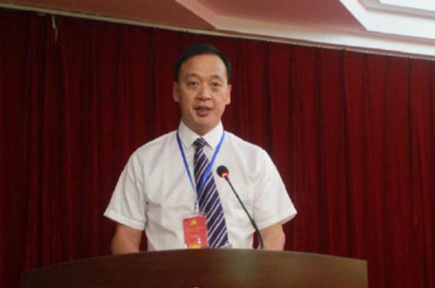 Giám đốc Bệnh viện Wuchang ở Vũ Hán, tỉnh Hồ Bắc, Trung Quốc - ông Liu Zhiming. Ảnh: Weibo