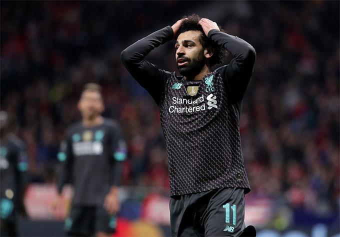 Salah và các đồng đội sẽ có nhiều việc để làm trong trận lượt về