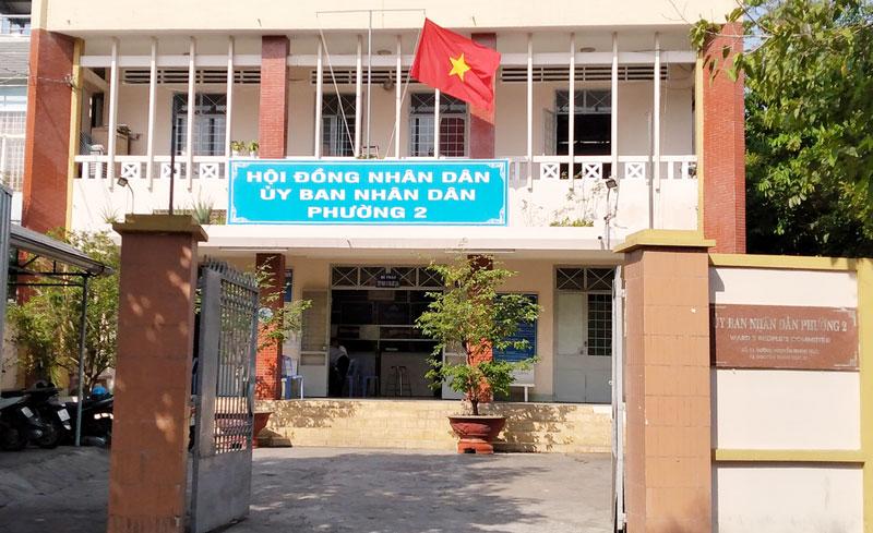Trụ sở làm việc của UBND Phường An Hội sẽ được đặt tại trụ sở làm việc của Đảng ủy - UBND - Ủy ban MTTQ Việt Nam Phường 2.