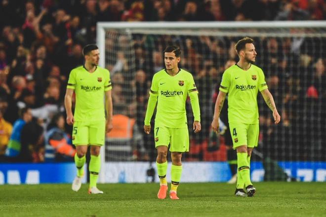 Barca thua sốc Liverpool ở bán kết Cúp C1 mùa trước