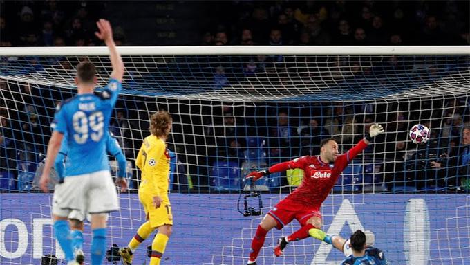 Griezmann ghi bàn gỡ hòa cho Barca