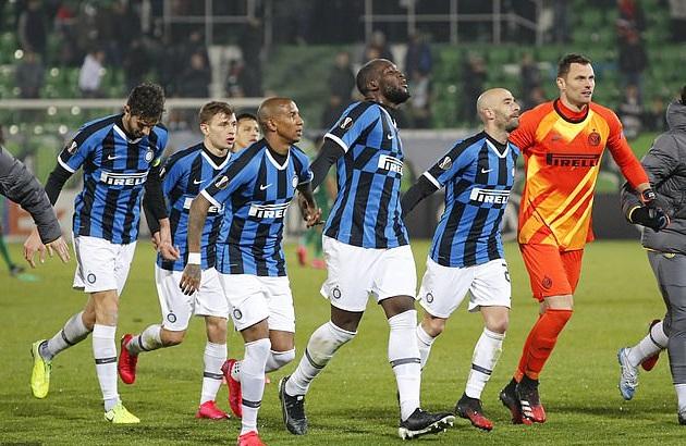 Inter Milan đang dẫn trước Ludogorets 2 bàn sau trận lượt đi