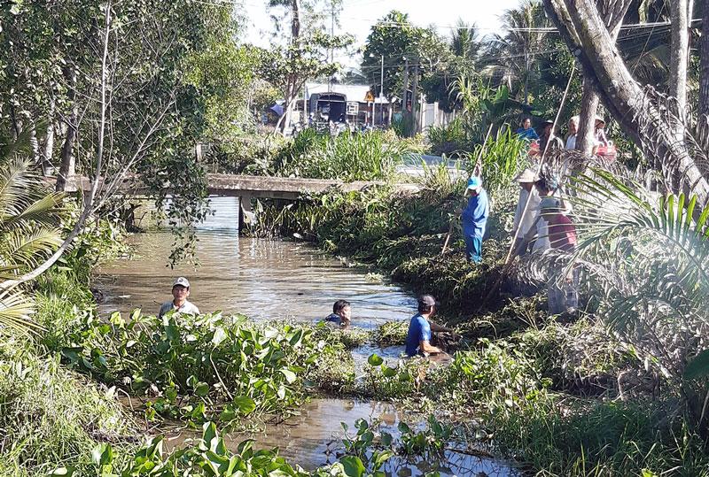 Khai thông dòng chảy bảo vệ môi trường.