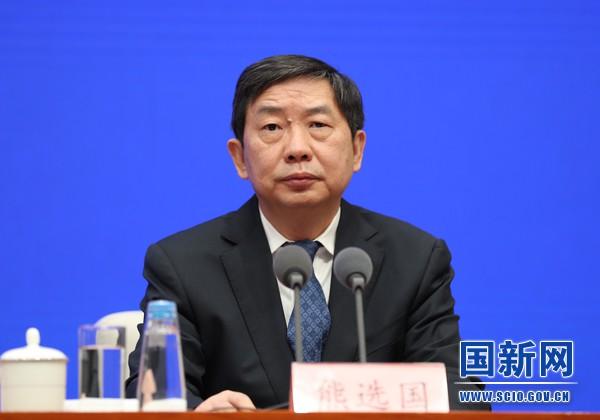 Ông Hùng Tuyển Quốc, Thứ trưởng Bộ Tư pháp Trung Quốc. Ảnh: SCIO