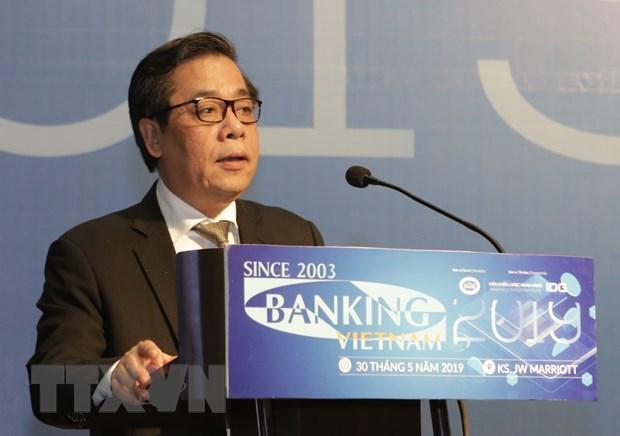 Phó Thống đốc Ngân hàng Nhà nước Việt Nam Nguyễn Kim Anh. (Ảnh: Trần Việt/TTXVN)