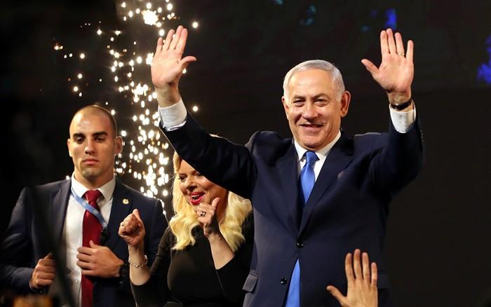 Ông Netanyahu (bên phải). Ảnh: Al-Monitor