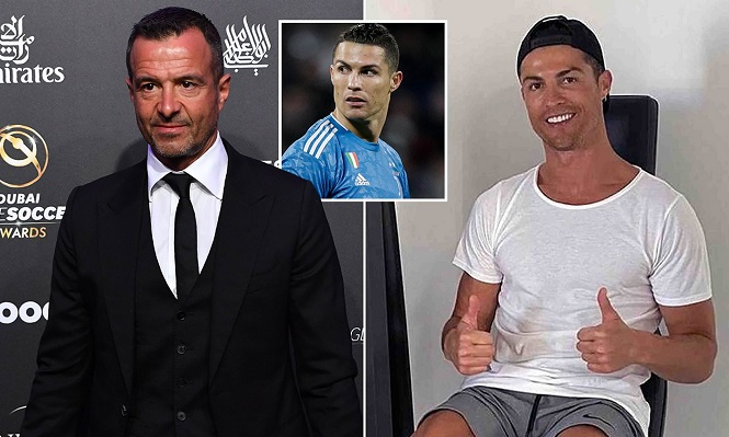 Cristiano Ronaldo đang tiếp tục dẫn đầu cuộc chiến chống lại đại dịch COVID-19 bằng cách hợp tác người đại diện Jorgen Mendes để tài trợ cho các bệnh viện ở Bồ Đào Nha.
