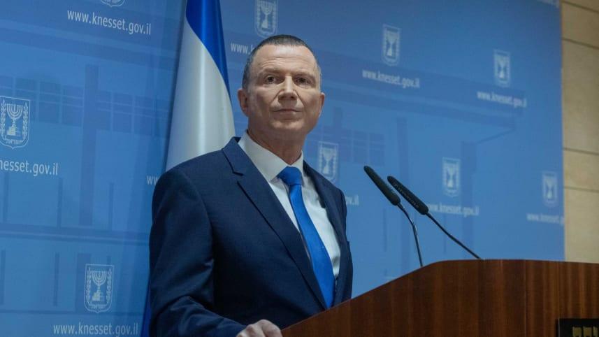Chủ tịch Quốc hội Israel Yuli Edelstein. Ảnh: haaretz.com