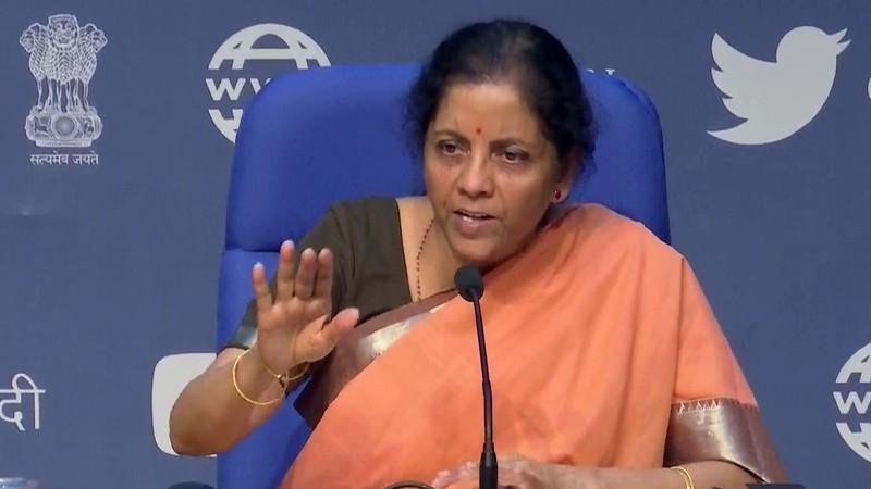 Bộ trưởng Tài chính Ấn Độ Nirmana Sitharaman. Ảnh: KT