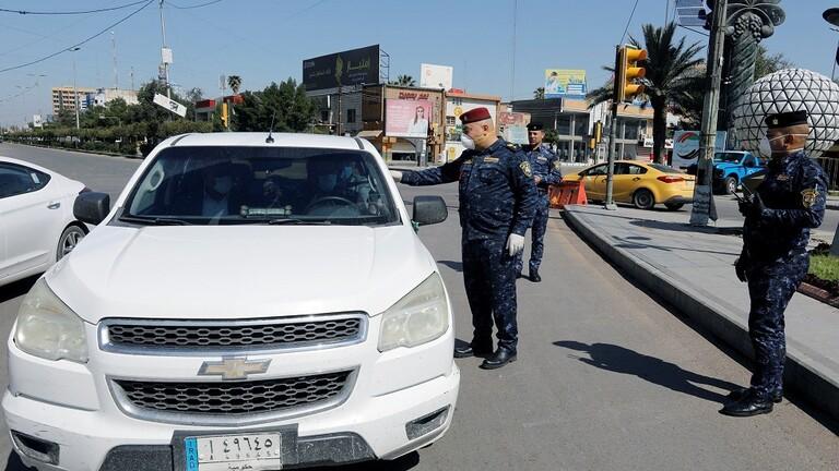 An ninh được tăng cường ở Iraq đề ngăn chặn dịch Covid-19 lây lan - Ảnh Reuters