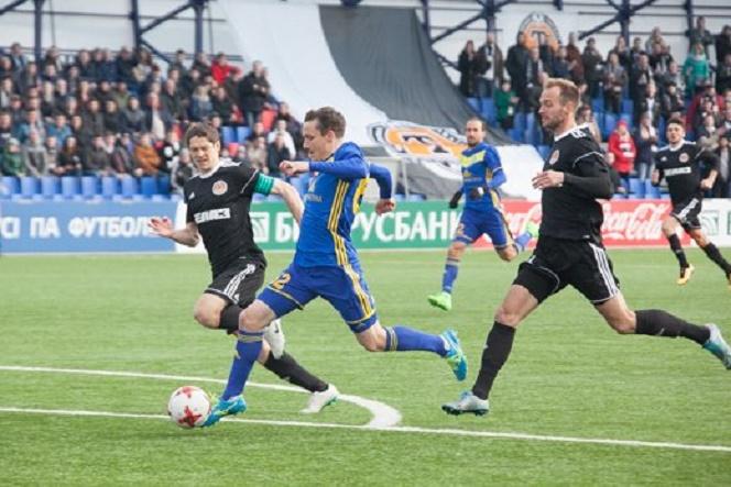 BATE Borisov chưa có điểm nào sau khi thua nergetyk BGU 1-3 ở trận mở màn