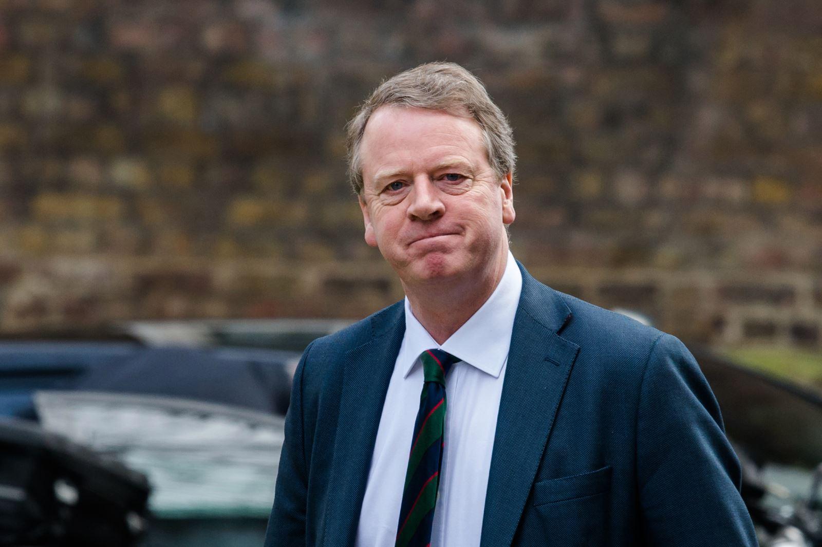 Quốc vụ khanh Bộ Ngoại giao Anh phụ trách vùng Scotland, ông Alister Jack. Ảnh: thesun.co.uk