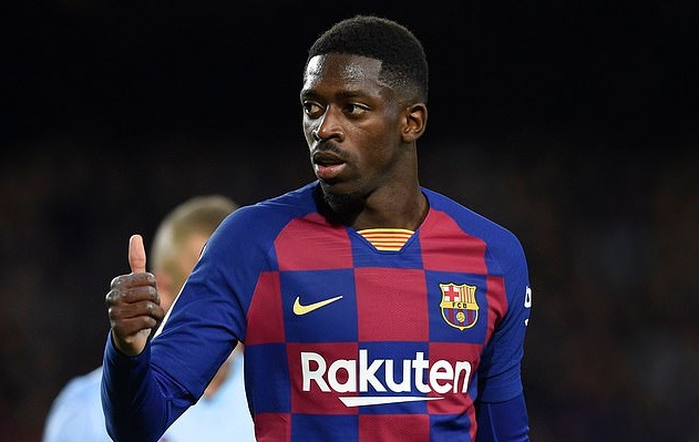 Dembele đã trải qua 3 mùa giải ác mộng tại Barca
