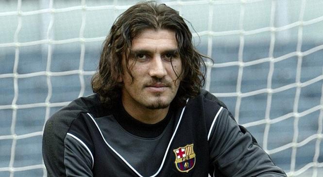 Rustu Recber từng chơi cho Barca