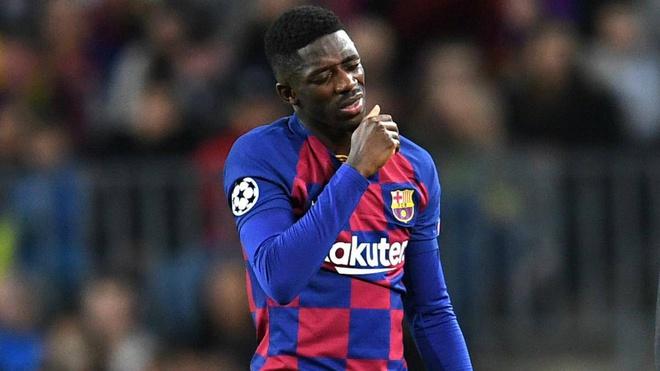 Dembele không có phong độ tốt ở Barca
