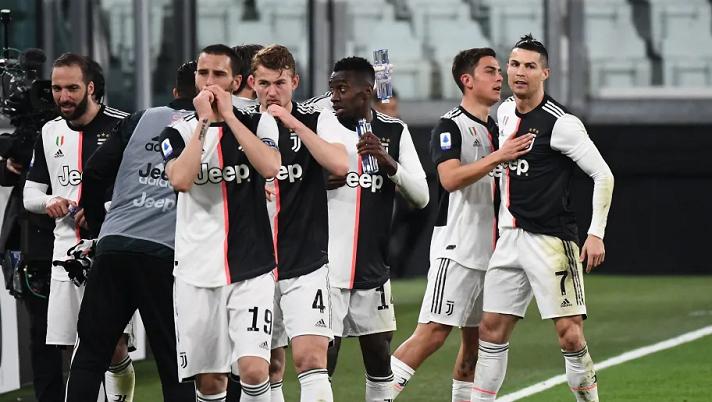 Juventus mất chức vô địch nếu mùa này kết thúc sớm hơn dự kiến