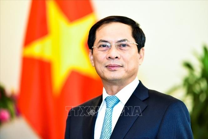 Thứ trưởng Bộ Ngoại giao Bùi Thanh Sơn. Ảnh: TTXVN