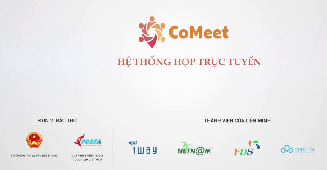 Liên minh CoMeet hướng đến cung cấp giải pháp họp trực tuyến trên nền Jitsi theo dạng