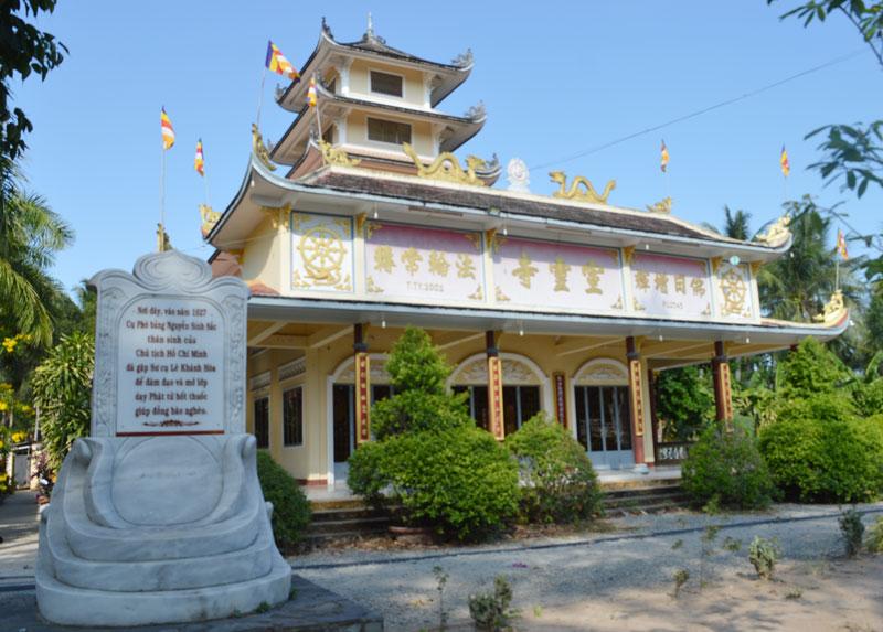 Quang cảnh chùa Tuyên Linh