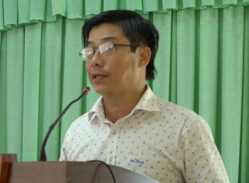 Ông Phạm Anh Linh phát biểu chỉ đạo tại hội nghị.