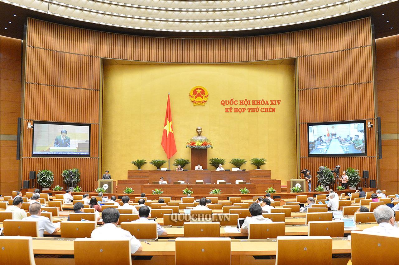 Kỳ họp thứ 9 Quốc hội khoá XIV, ngày 22-5-2020