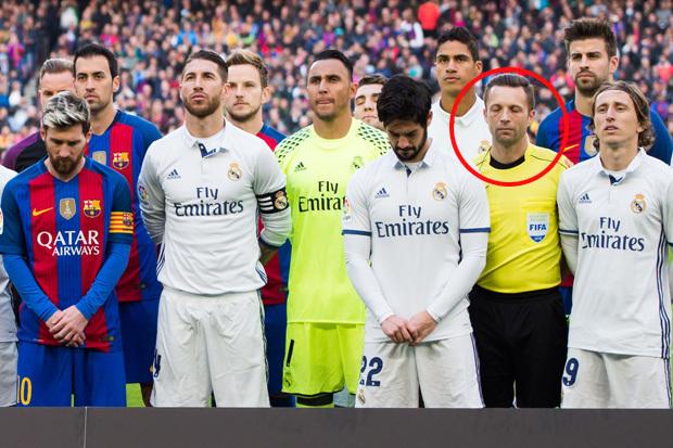 Các trọng tài ở La Liga sẽ ủng hộ Real Madrid nhiều hơn Barca