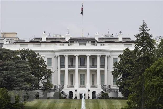 Quang cảnh bên ngoài Nhà Trắng ở Washington DC., Mỹ ngày 21-5-2020. (Nguồn: THX/TTXVN)