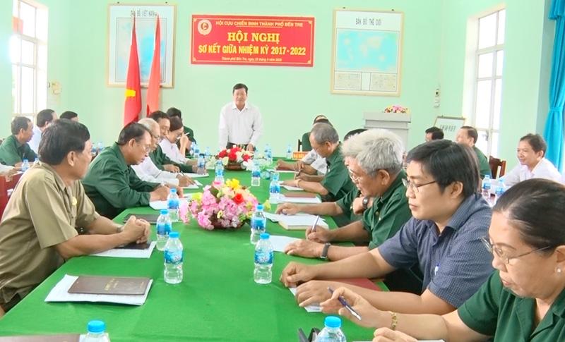 Ông Võ Thanh Hồng - Phó bí thư Thường trực Thành ủy phát biểu chỉ đạo hội nghị