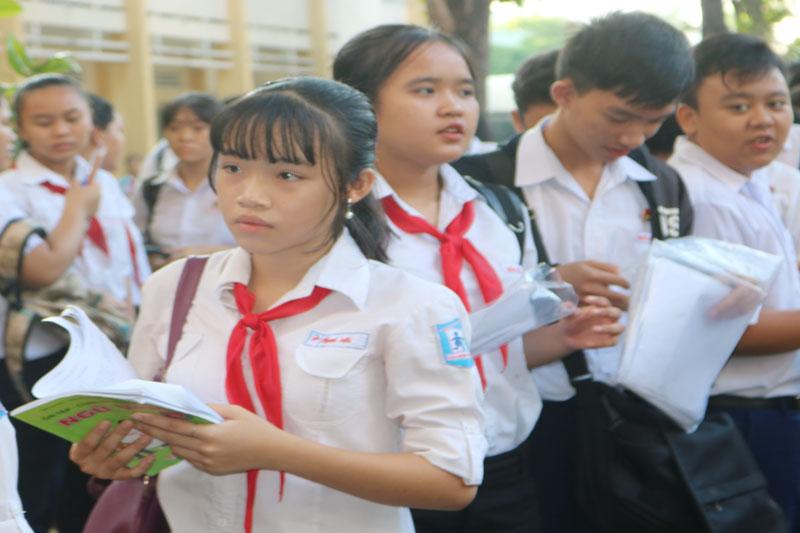Ôn tập chuẩn bị thi học kỳ 2 năm học 2019-2020 lưu ý các nội dung đã được giảm tải.