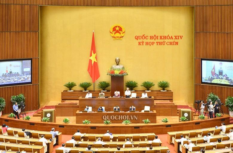 Phiên họp ngày 27-5-2020, Kỳ họp thứ 9 Quốc hội khoá XIV