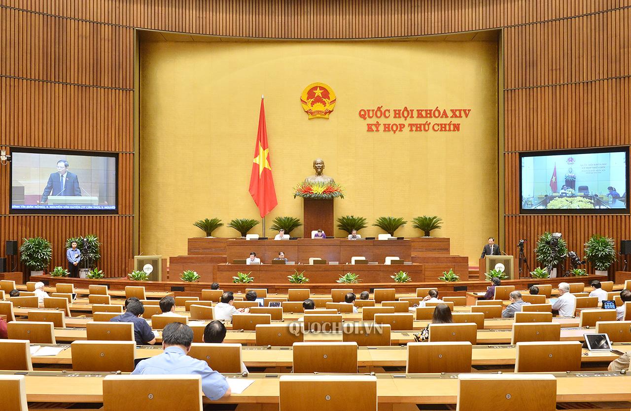 Phiên họp trực tuyến ngày 28-5-2020, Kỳ họp thứ 9 Quốc hội khoá XIV
