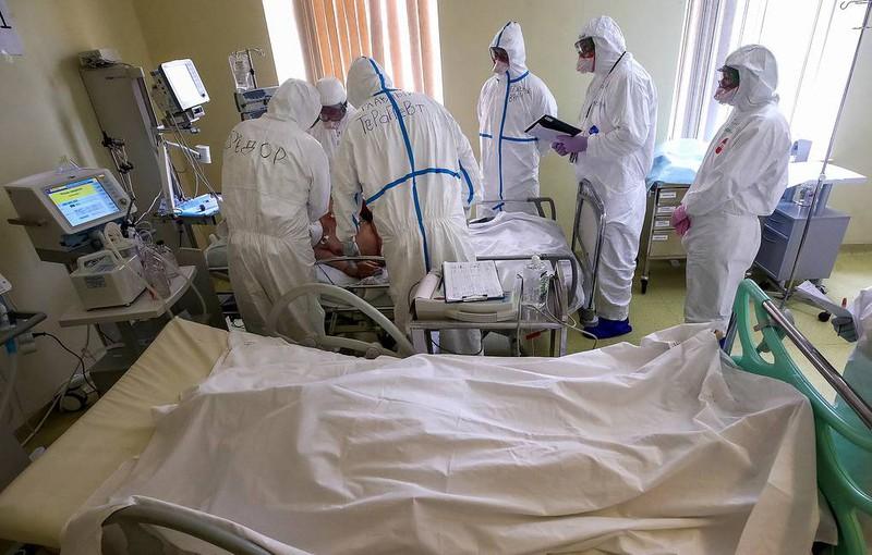 Nga ghi nhận số ca tử vong cao nhất kể từ đầu mùa dịch Covid-19. Ảnh: Tass