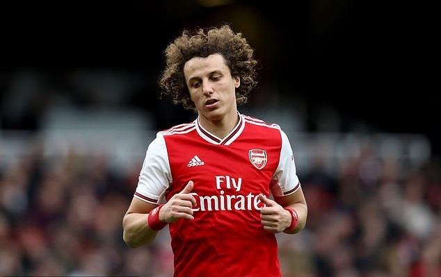 David Luiz có thể rời Arsenal sau mùa này