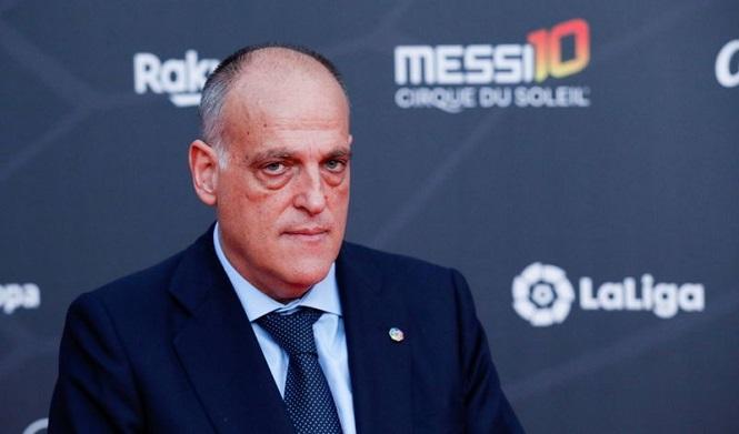 Chủ tịch La Liga, Javier Tebas