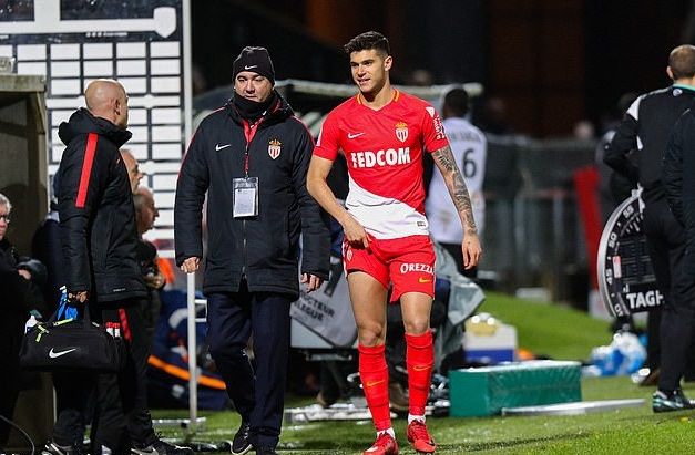 Pellegri liên tục dính chấn thương sau khi gia nhập Monaco