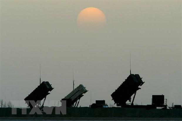 Hệ thống phòng thủ tên lửa Patriot của Mỹ. (Nguồn: AFP/TTXVN)