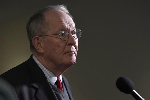Chủ tịch Ủy ban Y tế Thượng viện Mỹ Lamar Alexander. (Nguồn: AP)