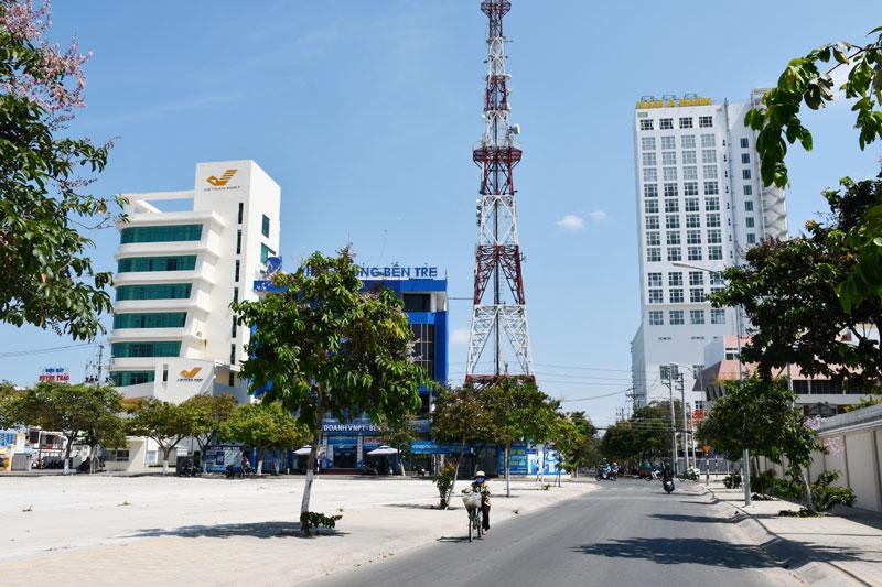 Một góc đô thị phường An Hội.