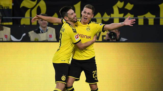 Hazard đã giúp Dortmund mở tỷ số