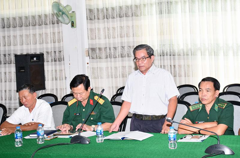 Các đại biểu tại buổi tọa đàm về công tác xây dựng Đảng.