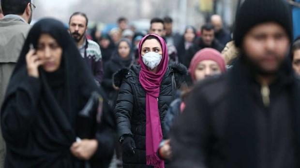 Không còn nhiều người dân đeo khẩu trang trên một tuyến phố ở Tehran, Iran ngày 28-5-2020. Ảnh: AFP