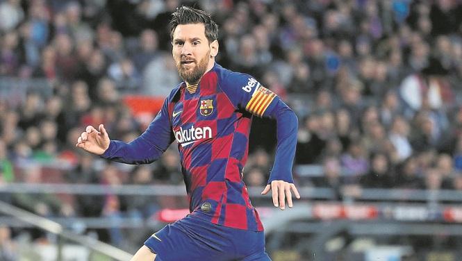 Messi tiếp tục ở lại Barca