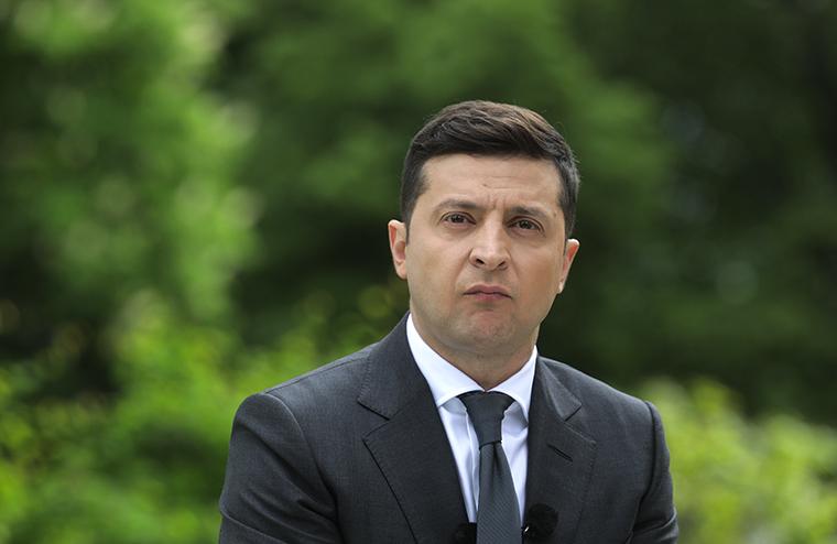Tổng thống Ukraine Volodymyr Zelensky. Ảnh: Getty Images