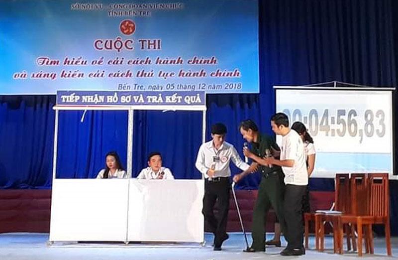 Cuộc thi về cải cách hành chính luôn thu hút đông đảo công chức làm việc tại Bộ phận tiếp nhận và trả kết quả từ cấp xã đến cấp tỉnh tham gia.