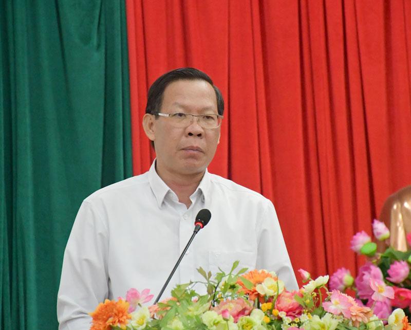 Phát biểu bế mạc hội nghị của Bí thư Tỉnh ủy Phan Văn Mãi