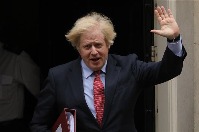 Thủ tướng Anh Boris Johnson tại thủ đô London ngày 11-6-2020. Ảnh: THX/ TTXVN