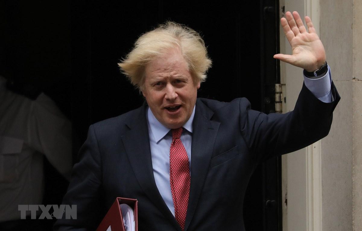 Thủ tướng Anh Boris Johnson tại thủ đô London ngày 11-6-2020. (Ảnh: THX/TTXVN)