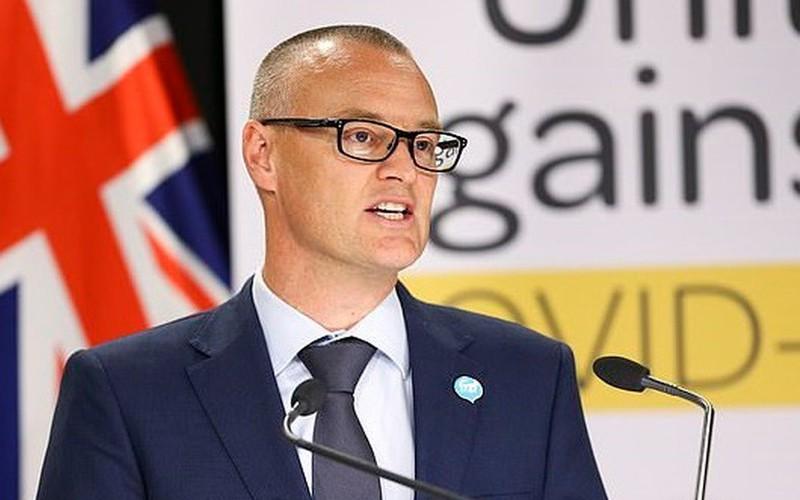 Bộ trưởng Y tế New Zealand David Clark. Ảnh: AFP.