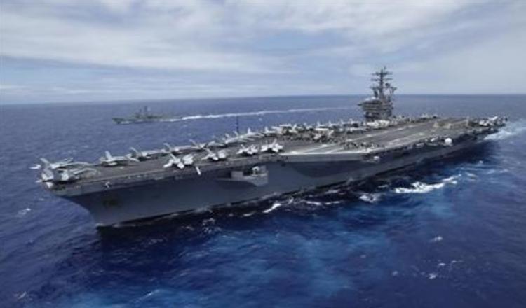 Tàu sân bay USS Nimitz. Ảnh: Reuters